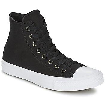 fantastische Converse chuck taylor all star ii hi heren sneakers (Zwart)