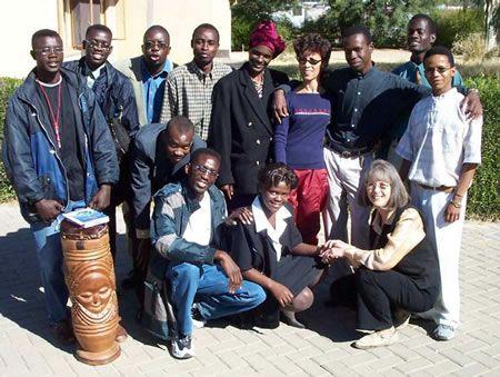 Volunteer Teaching English in Africa