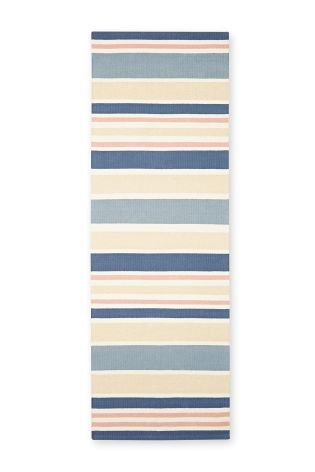 Pink Cotton Stripe Runner From The Next Uk Online Large Rugsnext