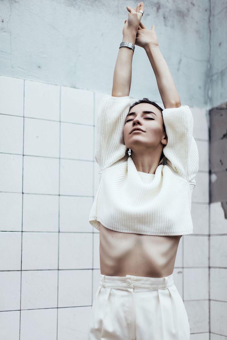 Melisa Minca #white #minimal