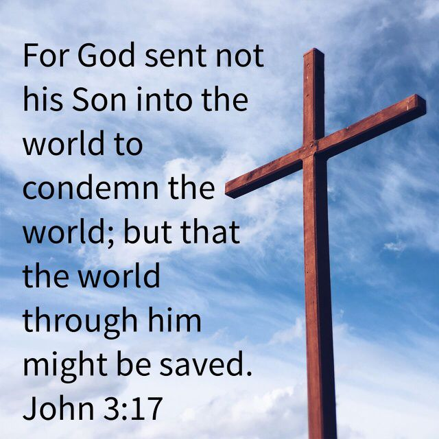 John 3:17 | Bible verse pictures, Deliverance prayers, Bible knowledge