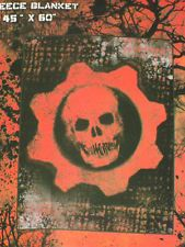 New Gears of War Omen Skull XBox 360 Game Plush Fleece Throw Blanket GIFT SOFT