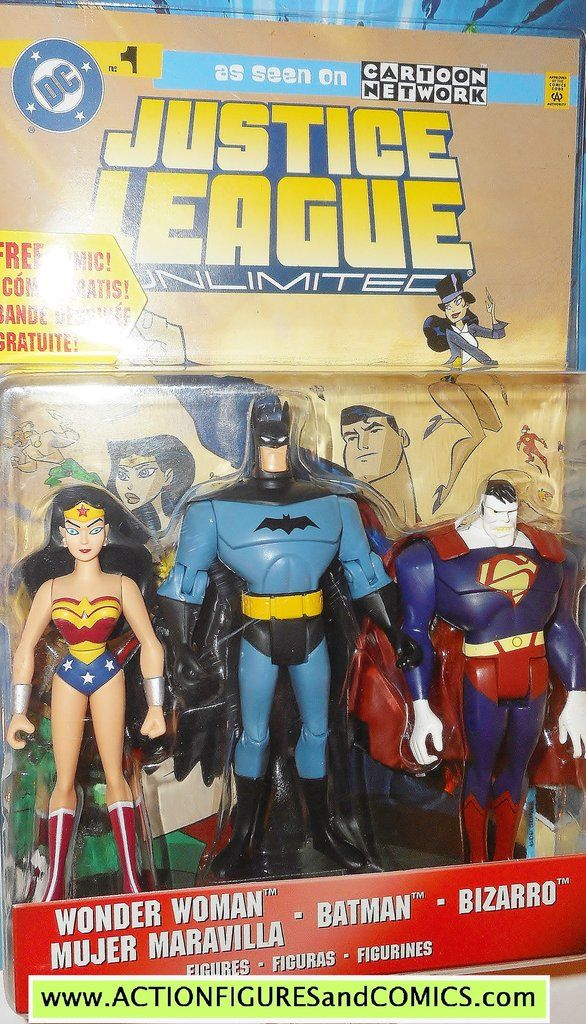 Best Justice League Toys And Action Figures For Kids : Best justice league unlimited mattel action figure