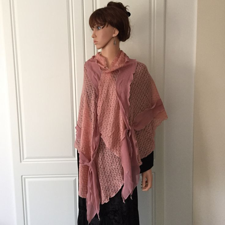 Scarf By Morsta of London in Peachy/Pink