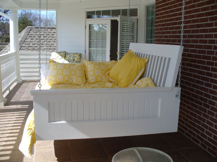 13 best images about furniture on pinterest diy swing for Outdoor hanging beds for sale