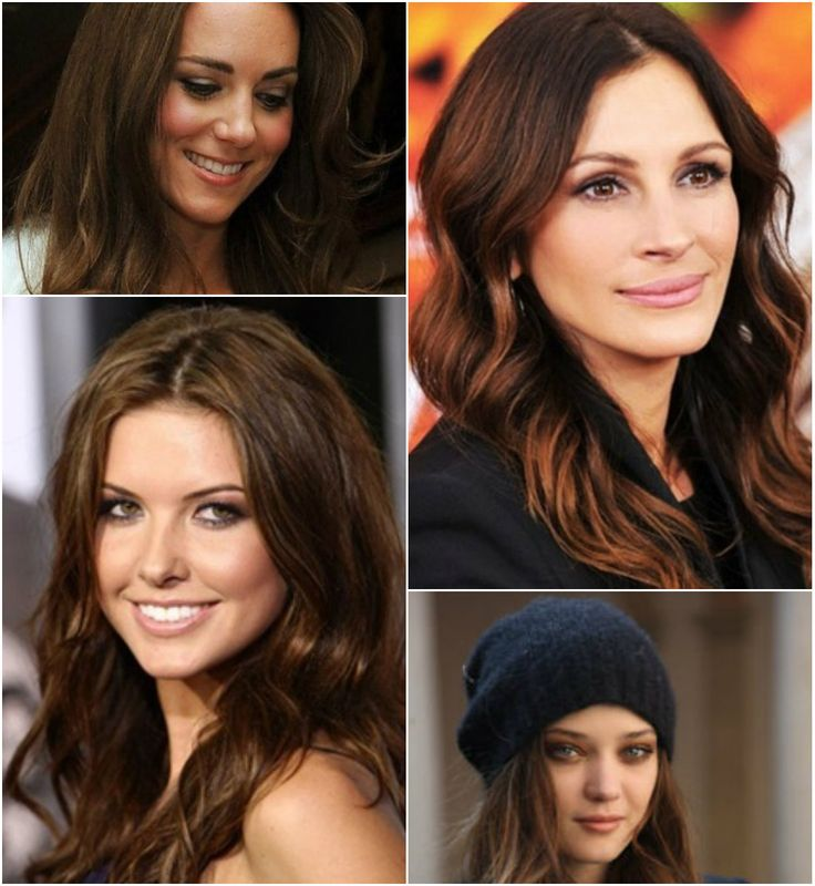 5 Striking Dark Hair Color Ideas for Thanksgiving Day 2013 #ChestnutBrown #ombrehair
