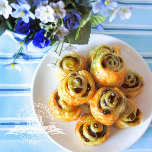 Rodzynkowe ślimaczki   Świat Ciasta
