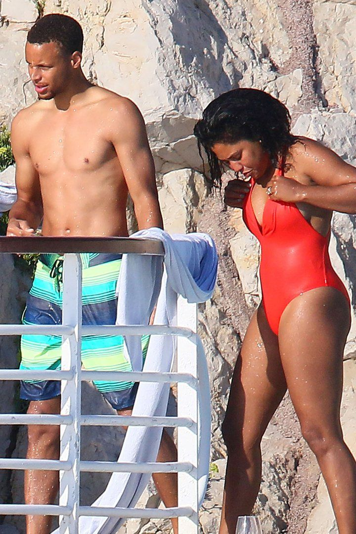 Pin for Later: Ayesha and Stephen Curry Celebrate Their 5-Year Wedding Anniversary on a Yacht in St.-Tropez
