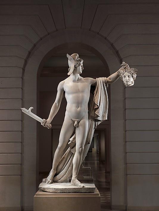 Perseus with the Head of Medusa  Antonio Canova  (Italian, Possagno 1757–1822 Venice)    Date:      1804–06  Culture:      Italian, Rome