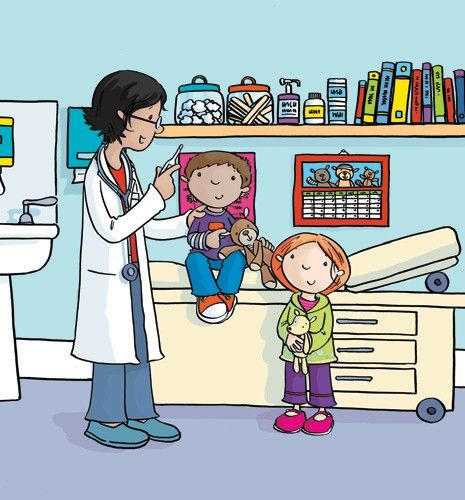 Sue King Illustration - sue king, digital, commercial, sweet, young, educational, novelty, activity, children, toddlers, boys, girls, people, doctors, nurses, hospital
