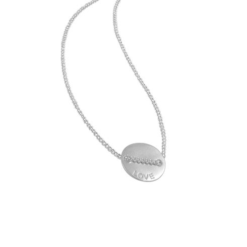THIS IS A PRE-ORDER ITEM. IMMEDIATE DELIVERY IS NOT AVAILABLE. ALL PRE-ORDERS FOR THIS ITEM WILL BE DISPATCHED BY FRIDAY 6TH OF JUNE. As seen on Nina Proudman in Network Ten's award-winning series Offspring.  Love Always. Always Love. These gorgeous pendants are pure sterling silver and made to wear forever. A fine chain is threaded through the pendant which reads 'love' on one side and 'always' on ...
