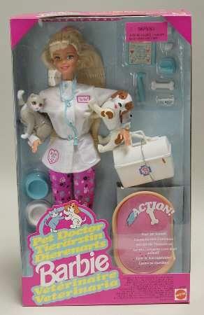 1996 Pet Doctor Barbie