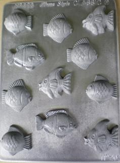 The small fish chocolate mould is another fantastic mould from the NZ made Home Style Chocolates chocolate mould range, helping you make yummy creations!