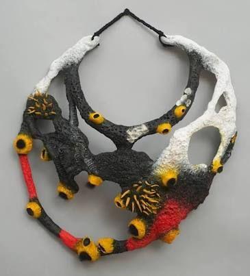 Bildergebnis für felted jewelry