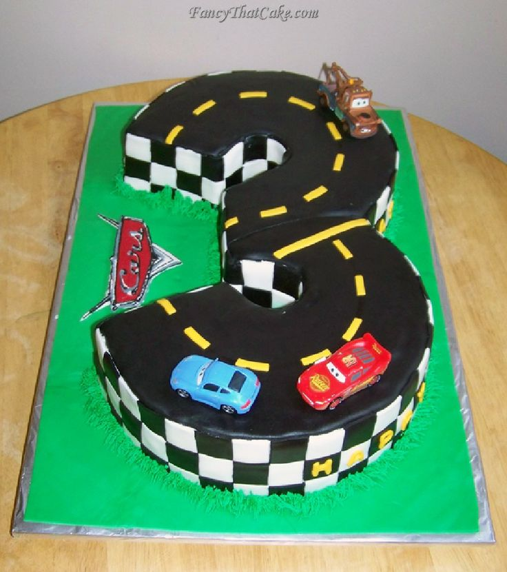 Best Car Theme Birthday Cakes Images On Pinterest Birthday - 5th birthday cake boy