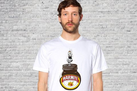 Marmite addict - Guys T-shirt