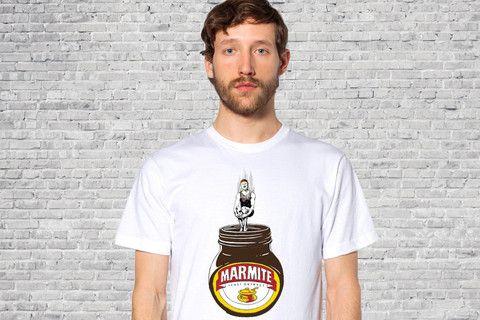 Marmite addict - Guys T-shirt