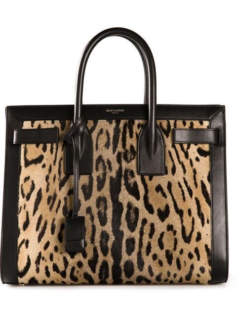 Saint Laurent Medium 'sac De Jour' Tote - - Farfetch.com