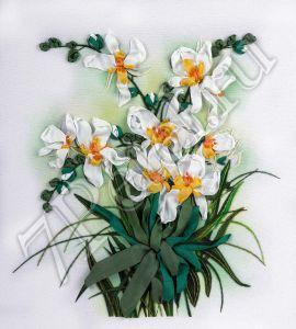 ЖК-2048 - Белые орхидеи