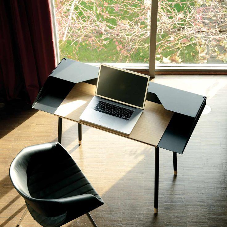 25 best ideas about schreibtisch schwarz on pinterest. Black Bedroom Furniture Sets. Home Design Ideas