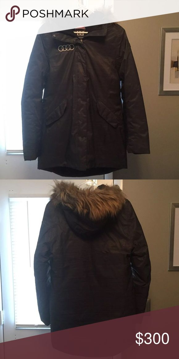Helly Hansen Ski jacket Helly Hansen jacket with Audi logo! New without tags. Helly Hansen Jackets & Coats