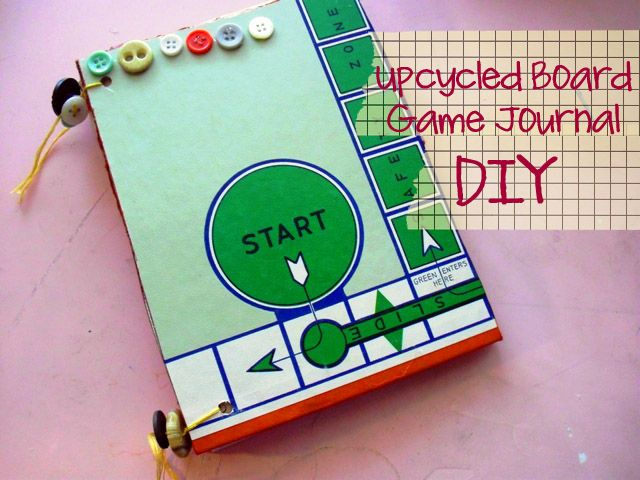 Game Board Journal, tutorial, by Katie from Punk Projects ♡
