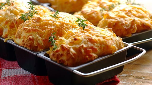 Incredibly simple to make, and best eaten hot oozing with butter. Delicious!