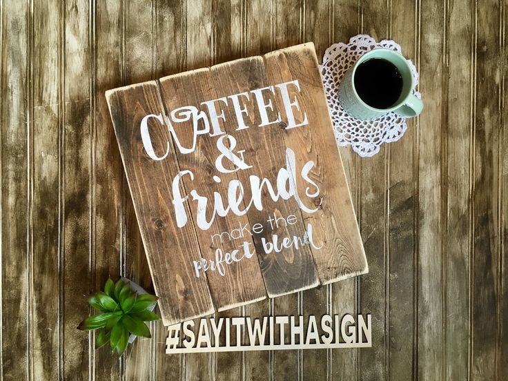 A personal favorite from my Etsy shop https://www.etsy.com/ca/listing/532937567/coffee-and-friends-make-the-perfect