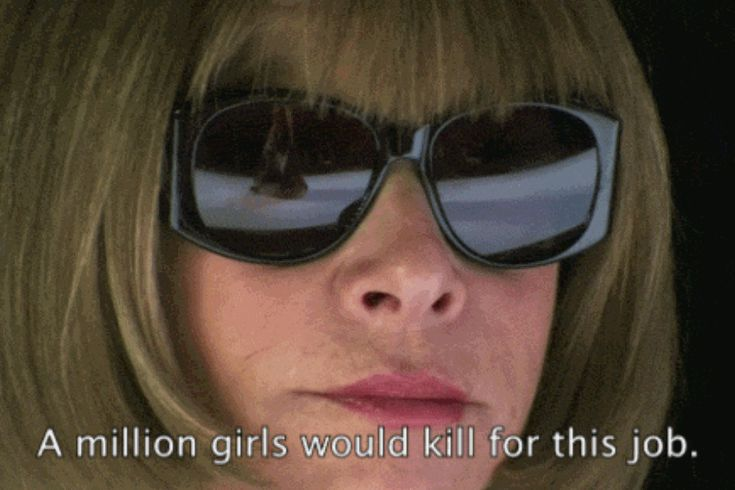 Anna Wintour has some harsh advice for fashion students