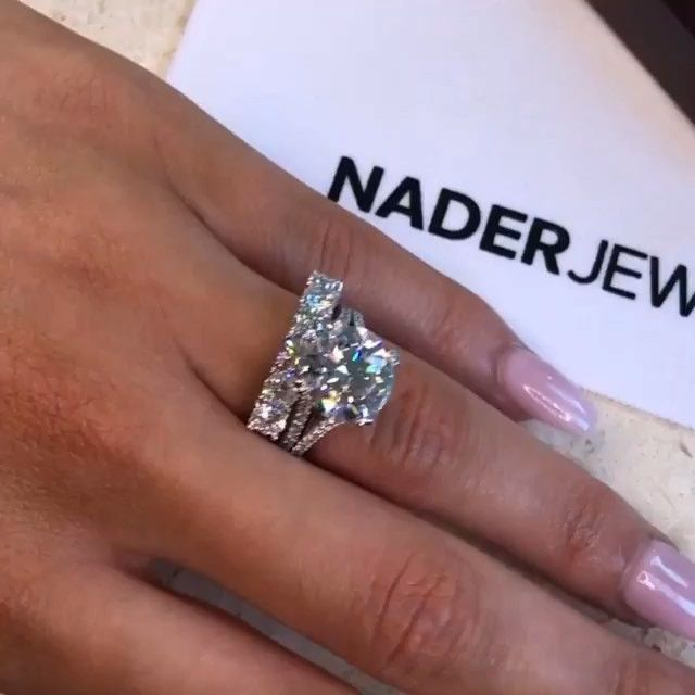 Diamond Buzz By Lily Nadtochi On Instagram 5ct Engagement Ring