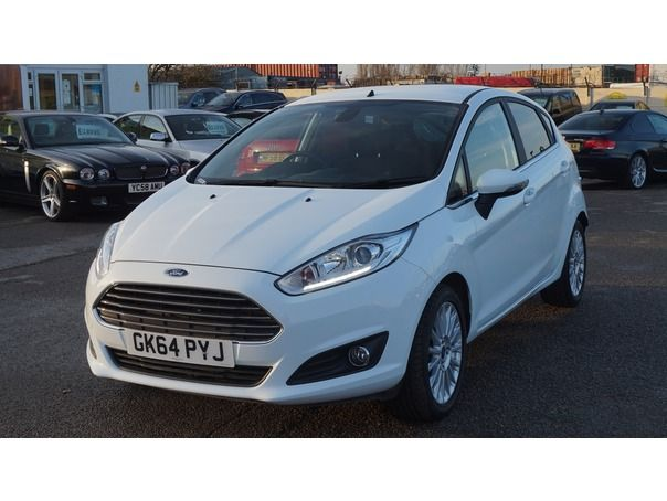 FORD FIESTA TITANIUM - Essex Car Company #Used #Ford #Essex #Fiesta #White #UsedCarSalesEssex
