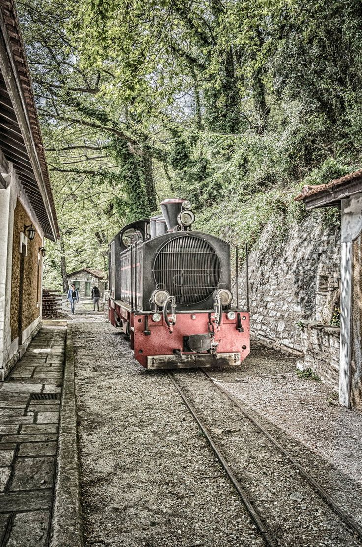 Steam train at Mount Pelion ~ Volos