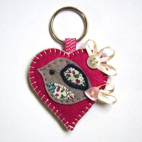 Little Bird Keyring