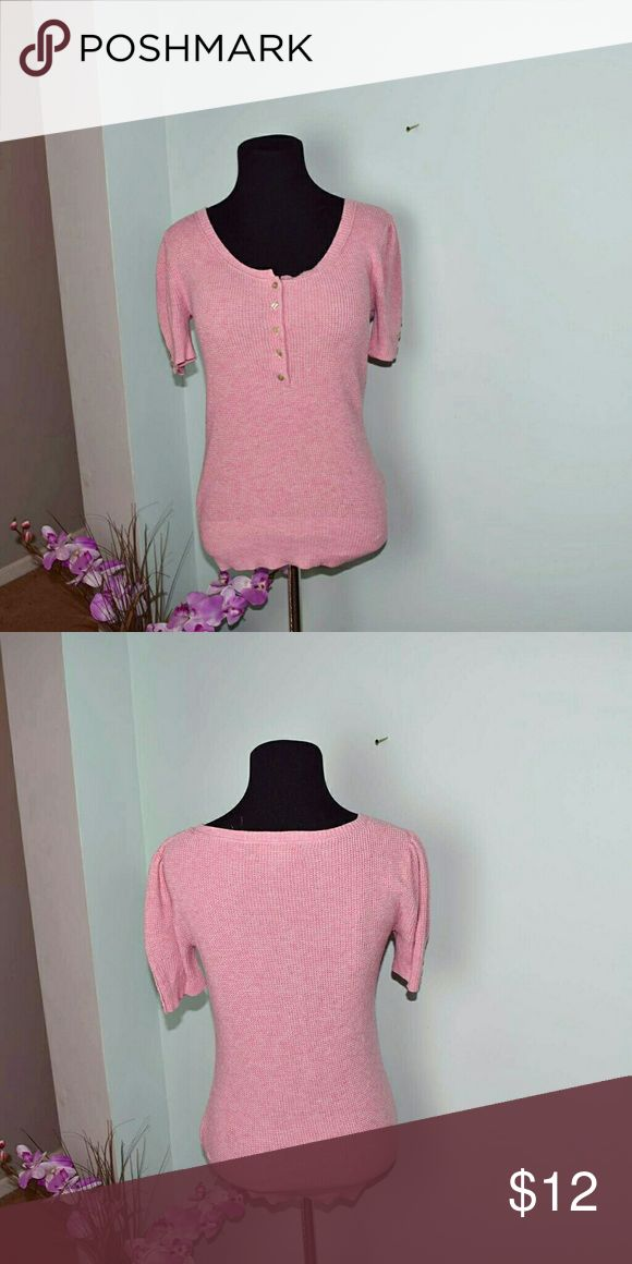 Eddie Bauer Pink Rose Top Super Cute and extremely comfortable. Beautifully made! In excellent condition! Eddie Bauer Tops Blouses