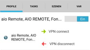 HomeMatic – Android VPN Zugang automatisieren