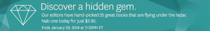 There are some great deals to be had on Audible's $3.95 Hidden Gem Sale, going on thru January 29.