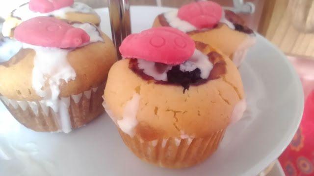 Ze života čtyřmatky: Muffinky s beruškou