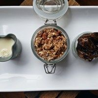 Lovely Honeyed Date Road-trip Granola Clusters