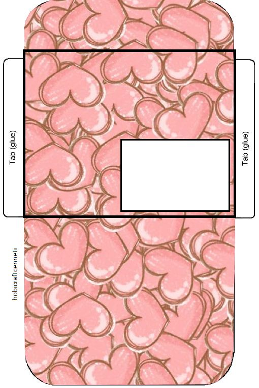 heart envelope,printable envelopes