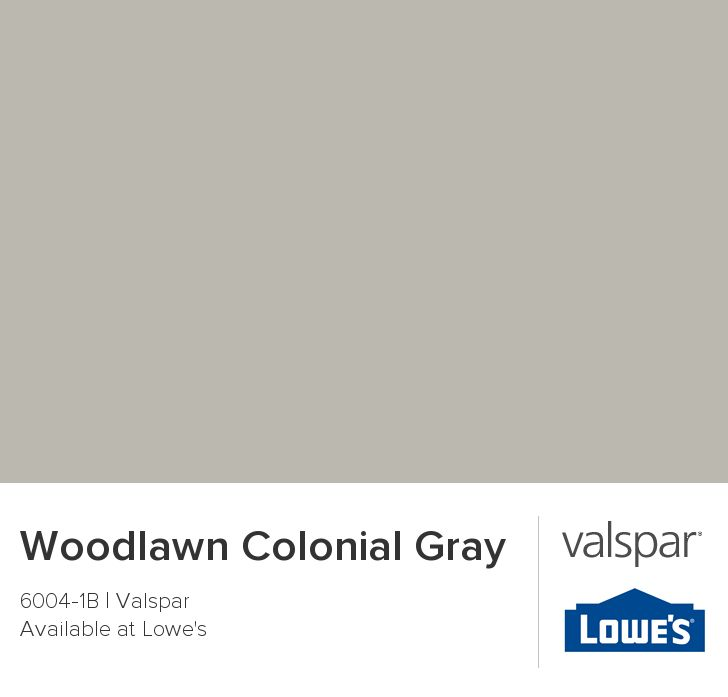 Woodlawn Colonial Gray from Valspar