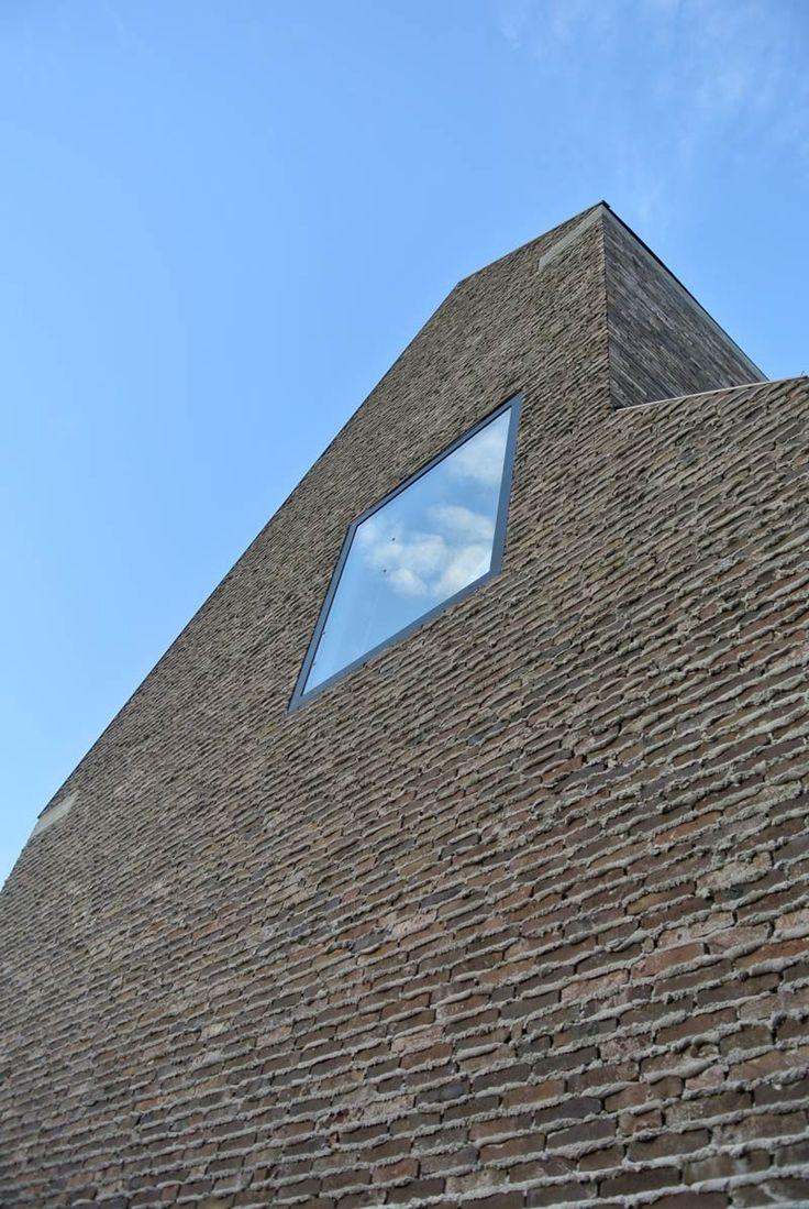 'Steffi', Brick facade detail - Ampe Trybou Architecten