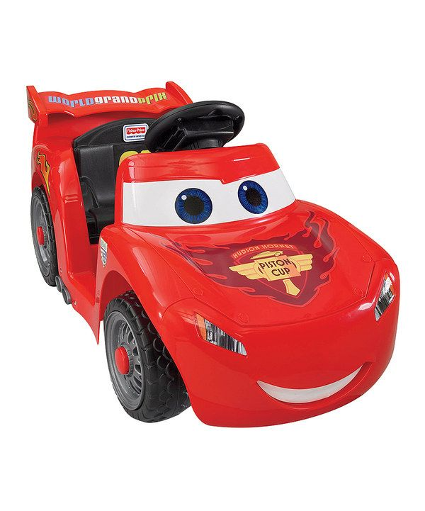 Look at this Fisher-Price Power Wheels Li'l Lightning McQueen Ride-On on #zulily today!