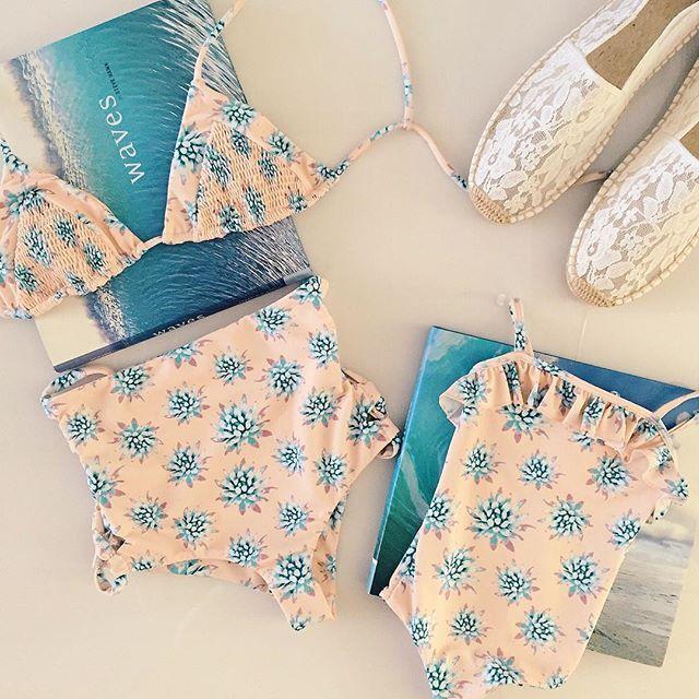 Mommy & Me bikinis from Tori Praver Swimwear | Nic del Mar
