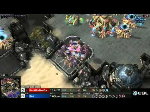 SC2: WCS Premier League GunGFuBanda VS Sen Round 1 - Group B