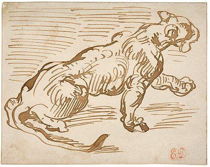 Delacroix, 1798 - 1863