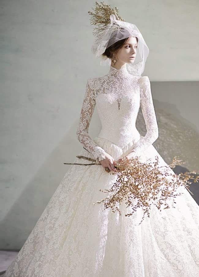 40 + verträumte Vintage Brautkleider für unerschütterliche Essenz der vergangenen Zeit