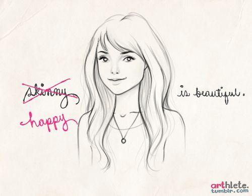 "Arthlete ~ ""Happy is beautiful."""