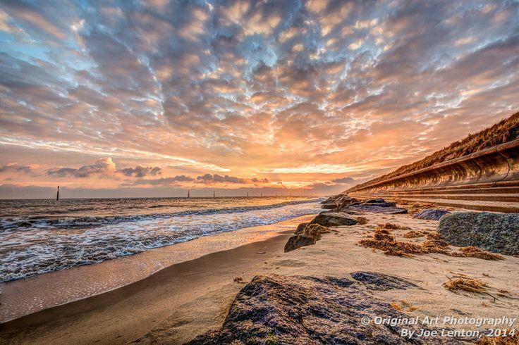 Sunrise at Sea Palling in Norfolk
