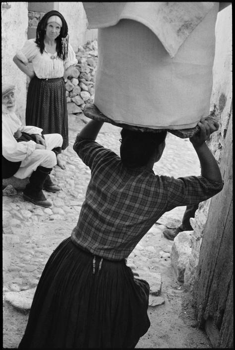 Henri Cartier-Bresson  ITALY. Sardinia. Orani. 1962.