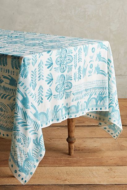 Puglia Tablecloth #anthropologie